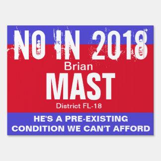 No in 2018: Mast FL-18 Sign