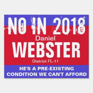No in 2018: Webster FL-11 Sign