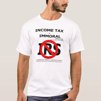 NO IRS T-Shirt