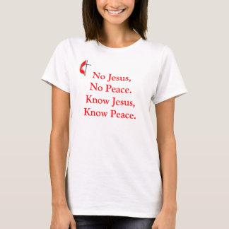 No Jesus No Peace T-Shirt
