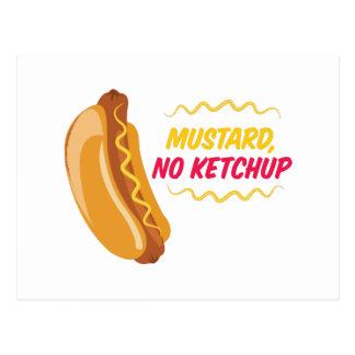 No Ketchup Postcard