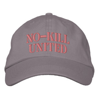 NO-KILL UNITED : HAT-SBC EMBROIDERED HAT