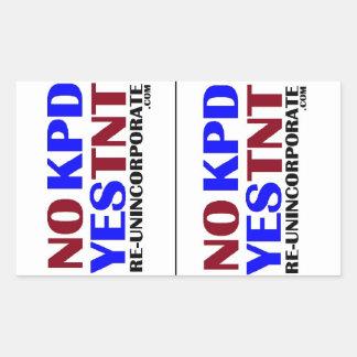 No KPD Yes TNT LG Sticker