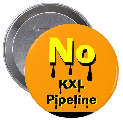 No KXL Pipeline Pin