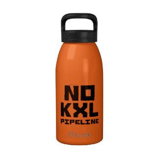No KXL Pipeline Reusable Water Bottle