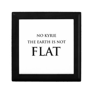 NO KYRIE THE EARTH IS NOT FLAT GIFT BOX