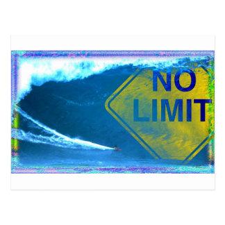 NO LIMIT Wave Postcard