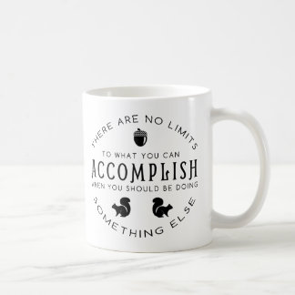 No Limits - Black Coffee Mug