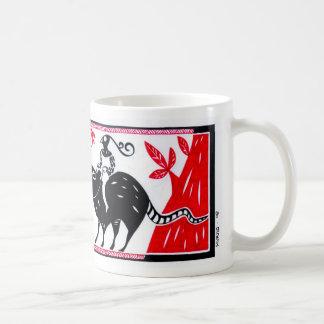 No lombo da praga 2 basic white mug