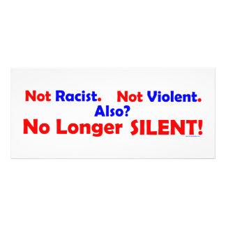 No Longer SILENT! Custom Rack Card
