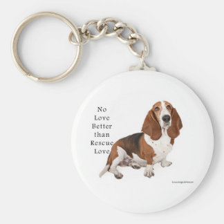 No Love Better than Rescue Love Keychain