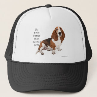No Love Better than Rescue Love Trucker Hat