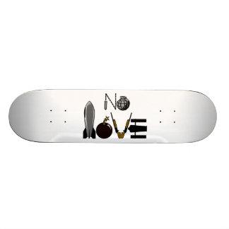 No Love War Weaponry Skate Board Decks