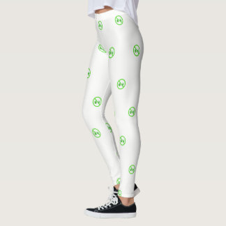 NO LYME LEGGINGS - LYME AWARENESS