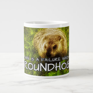 No man is a failure who has Groundhogs mug