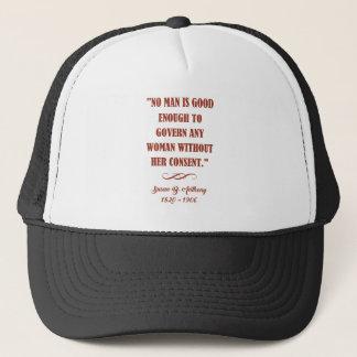 NO MAN... TRUCKER HAT
