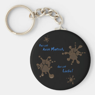 No Matsch - love Keychain
