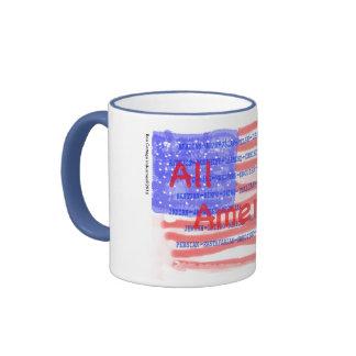 No matter your background, All American, 11oz mug