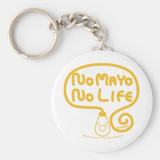 No Mayo No Life Keychain