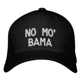 NO MO' BAMA EMBROIDERED HAT