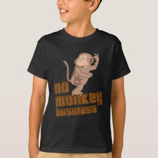 No Monkey Business Kids Tee