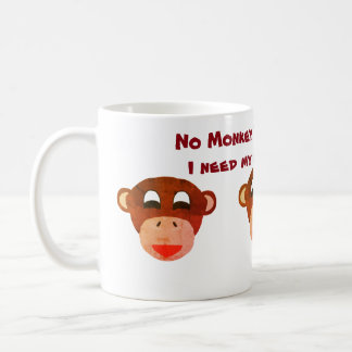 No Monkey Business Mug. Coffee Mug