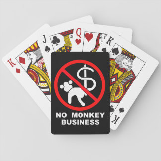 No monkey business poker deck
