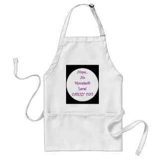 No Monsters Here! Apron