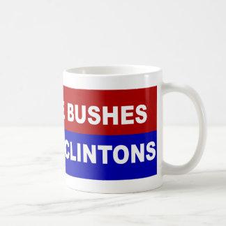 No More Bushes, No More Clintons Classic White Coffee Mug
