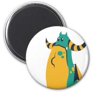 no more cookes, cookies cow design 2 inch round magnet