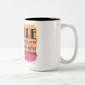 No more defining my life by my age or weight. Two-Tone coffee mug