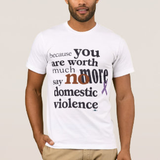 No More Domestic Violence T-Shirt