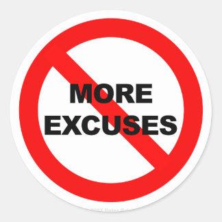 No More Excuses - Sticker
