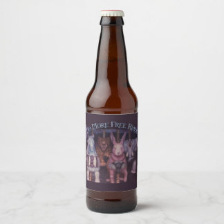 No More Free Rides, name only Beer Bottle Label