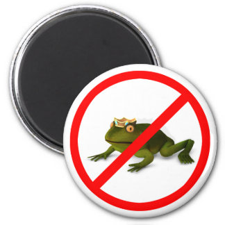 No More Frogs! Magnet