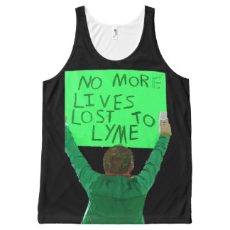 No More Lives Lost to Lyme All-Over-Print Tank Top