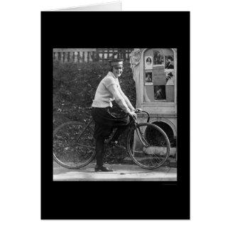 No More Messenger Boys 1922 Card
