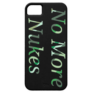 No More nukes phonecase iPhone 5 Cases