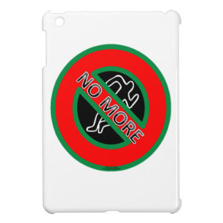 NO MORE police violence against Black People iPad Mini Cover