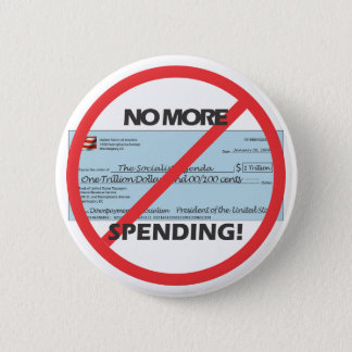 No More Spending - Button