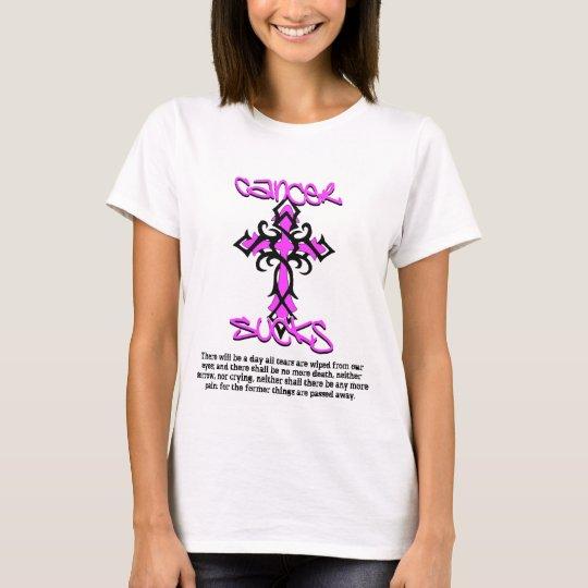 No More Tears - Cancer Sucks T-shirt
