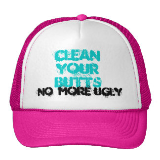 NO  MORE UGLY TRUCKER HAT
