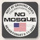 No Mosque At Ground Zero Coaster