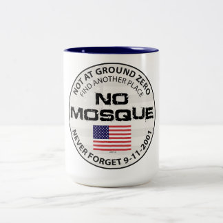 No Mosque At Ground Zero Two-Tone Coffee Mug