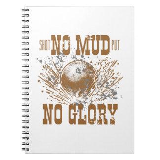 no mud no glory notebooks
