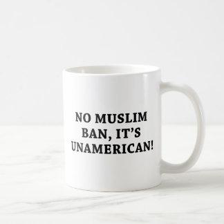 No Muslim Ban Coffee Mug