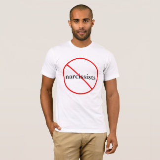 No Narcissists - Cotton T-shirt