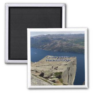 NO # Norway - Lysefjorden - Preikestolen Magnet