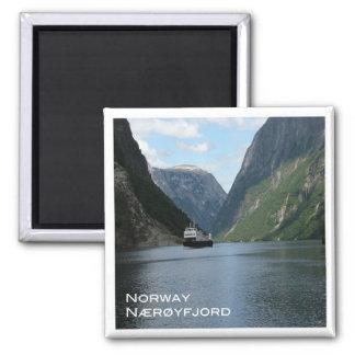 NO # Norway - Nærøyfjord - Gudvangen ferry Magnet