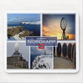 NO Norway - Nordkapp North Cape - Mouse Pad
